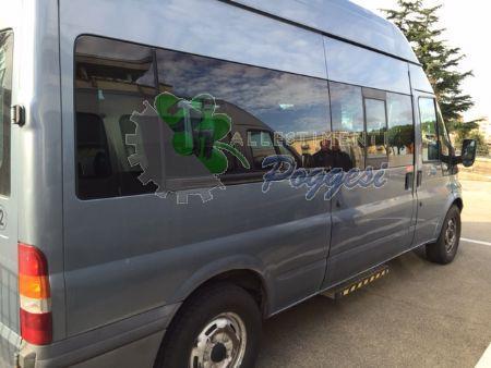 Veicolo minibus ford per trasporto disabili 8posti usato for Mercatino usato viterbo